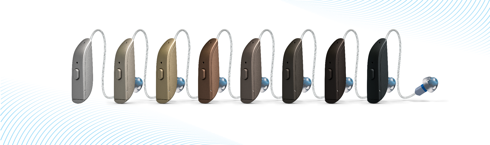 Lineup of new ReSound ONE and AGXrH Technology